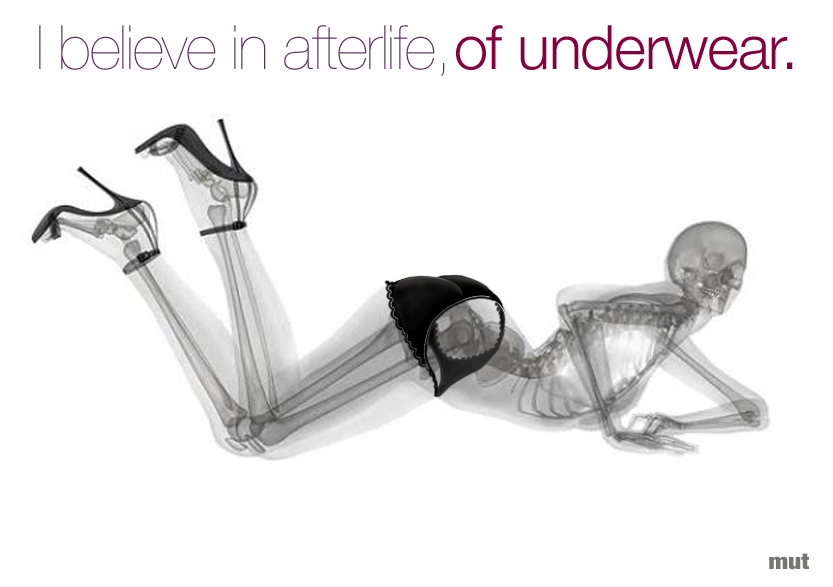 believe 031 AFTERLIFE OF UNDERWEAR