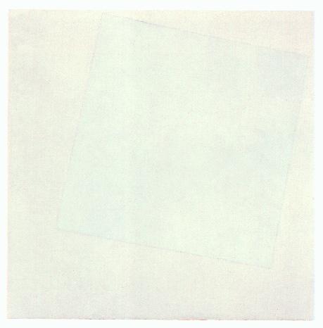 malevic white square1 WHITE ON WHITE