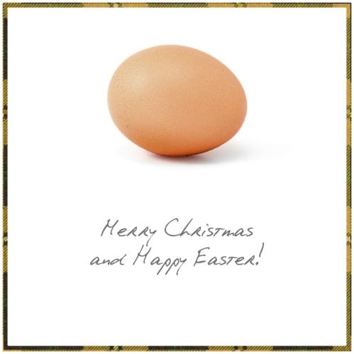 Christmas egg