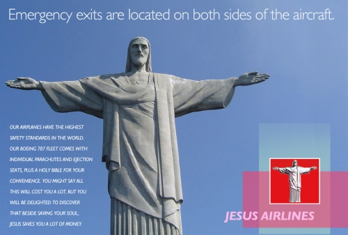 JESUS SAFETY AD