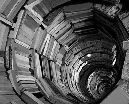 BRAIN 07 tunnel of books